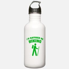 I'd rather be Hiking Water Bottle