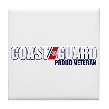 USCG Veteran Tile Coaster