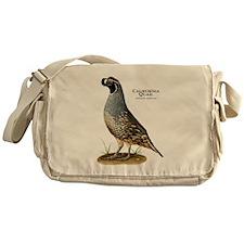 California Quail Messenger Bag