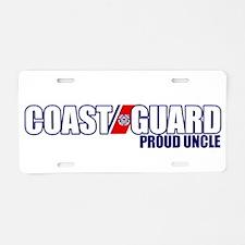 USCG Uncle Aluminum License Plate