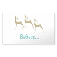 Believe in Santa Claus Decal