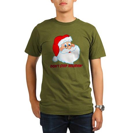 Don't Stop Believin' Organic Men's T-Shirt (dark)