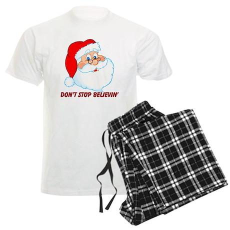 Don't Stop Believin' Men's Light Pajamas