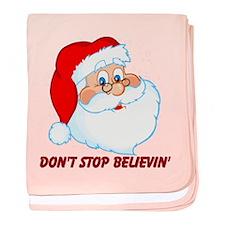 Don't Stop Believin' baby blanket