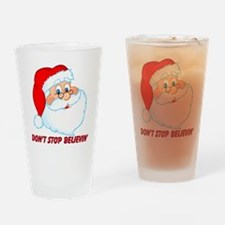 Don't Stop Believin' Drinking Glass