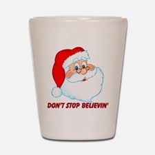 Don't Stop Believin' Shot Glass