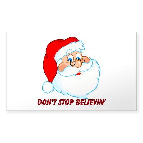 Don't Stop Believin' Sticker (Rectangle 50 pk)