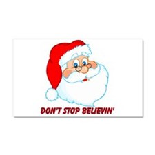 Don't Stop Believin' Car Magnet 20 x 12