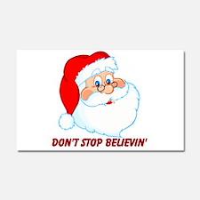 Don't Stop Believin' Car Magnet 20 x 12