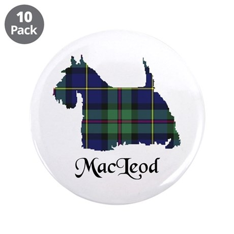 """Terrier - MacLeod 3.5"""" Button (10 pack)"""