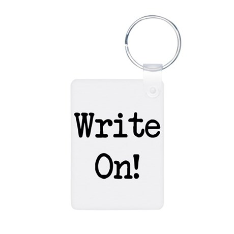 Write On Aluminum Photo Keychain