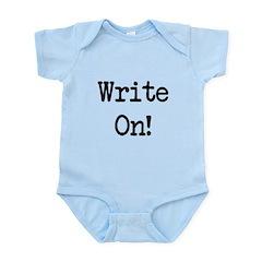 Write On Infant Bodysuit