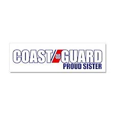 USCG Sister Car Magnet 10 x 3