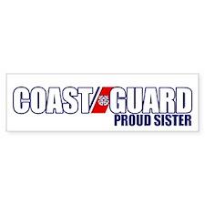 USCG Sister Bumper Sticker