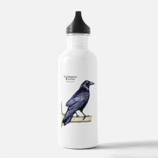 Common Raven Water Bottle