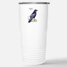 Common Raven Stainless Steel Travel Mug