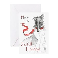 Russian Red Holiday Cards 10PK