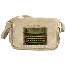 typewriter writer Messenger Bag