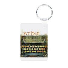 typewriter writer Keychains
