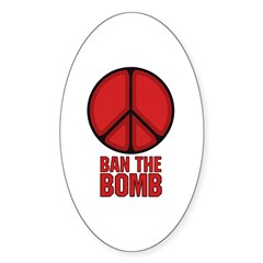 Ban the Bomb Decal
