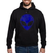 Worn, Blue Alien Hoodie