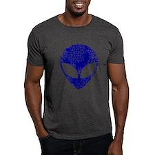 Worn, Blue Alien T-Shirt