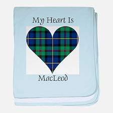 Heart - MacLeod baby blanket