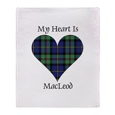 Heart - MacLeod Throw Blanket