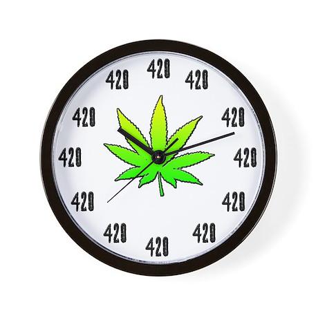 Always 420 Wall Clock
