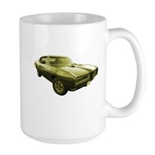 1968 Pontiac GTO Muscle Car Mug