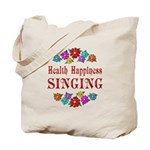 Singing Happiness Tote Bag