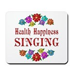 Singing Happiness Mousepad