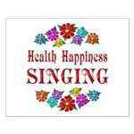 Singing Happiness Small Poster