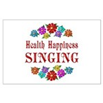 Singing Happiness Large Poster