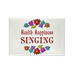 Singing Happiness Rectangle Magnet (10 pack)