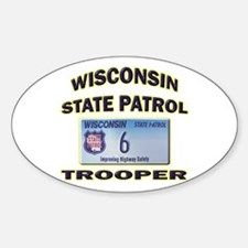 Wisconsin State Patrol Decal