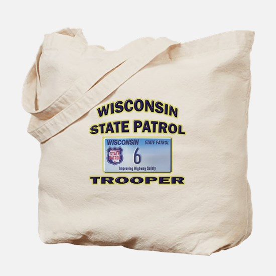 Wisconsin State Patrol Tote Bag