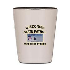 Wisconsin State Patrol Shot Glass