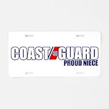 USCG Niece Aluminum License Plate