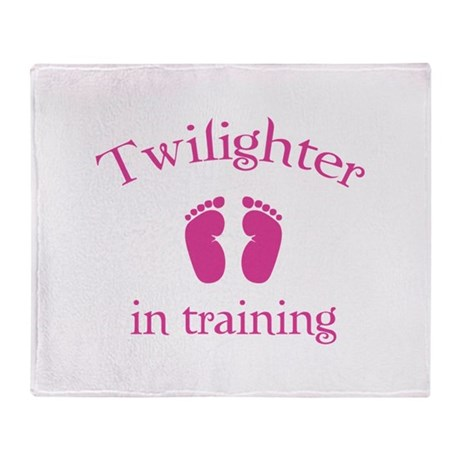 Twilighter in training Throw Blanket
