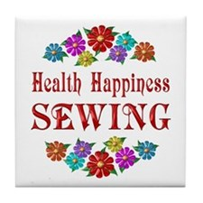 Sewing Happiness Tile Coaster