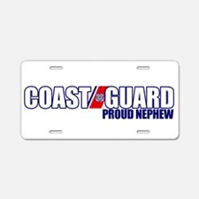 USCG Nephew Aluminum License Plate