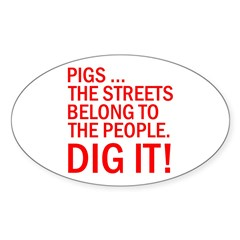 PIGS IN THE STREET Decal