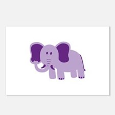 Funny Elephant Postcards (Package of 8)