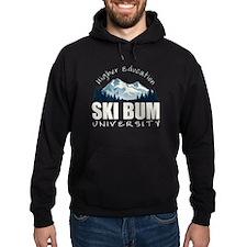 Ski Bum University Hoodie