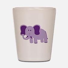 Funny Elephant Shot Glass