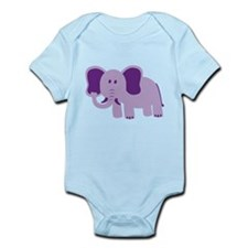 Funny Elephant Infant Bodysuit
