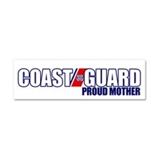 USCG Mother Car Magnet 10 x 3