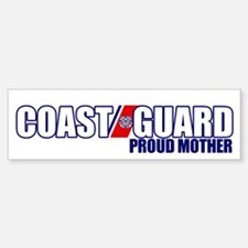 USCG Mother Car Car Sticker