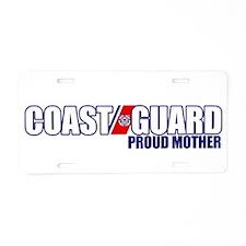 USCG Mother Aluminum License Plate